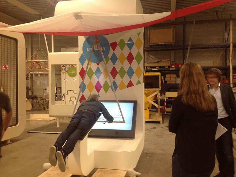 Shop approval: Delta Wing Exhibit voor Sotra Kystby Science Center in Noorwegen