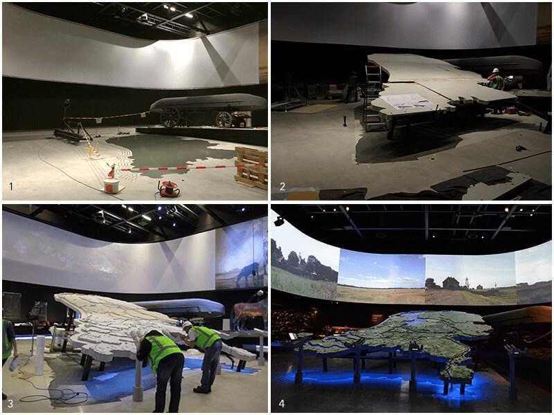 Making off Nationaal Militair Museum