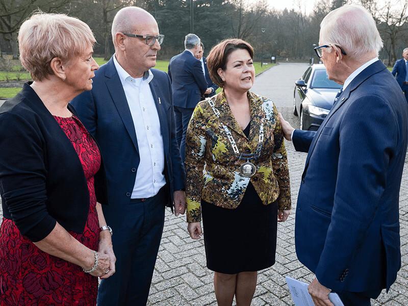 Jan Burgmans ontvangt Pieter van Vollenhovenprijs