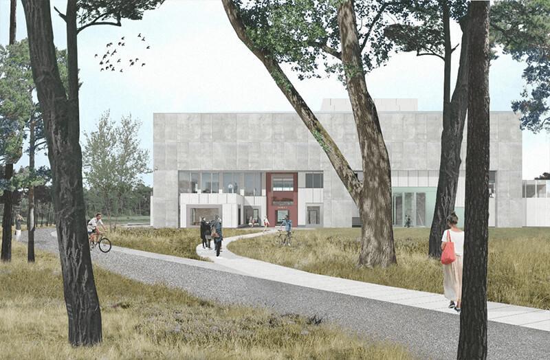 Bouw van bezoekerscentrum Tabloo in Dessel van start