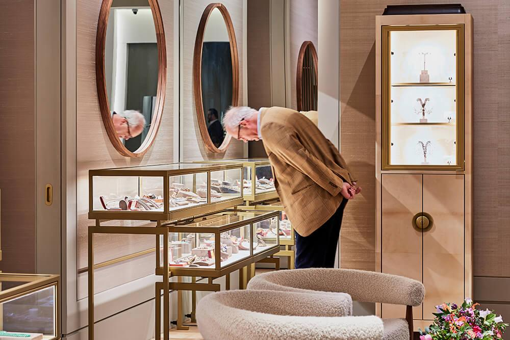 Juwelen Vitrines FD Galerij