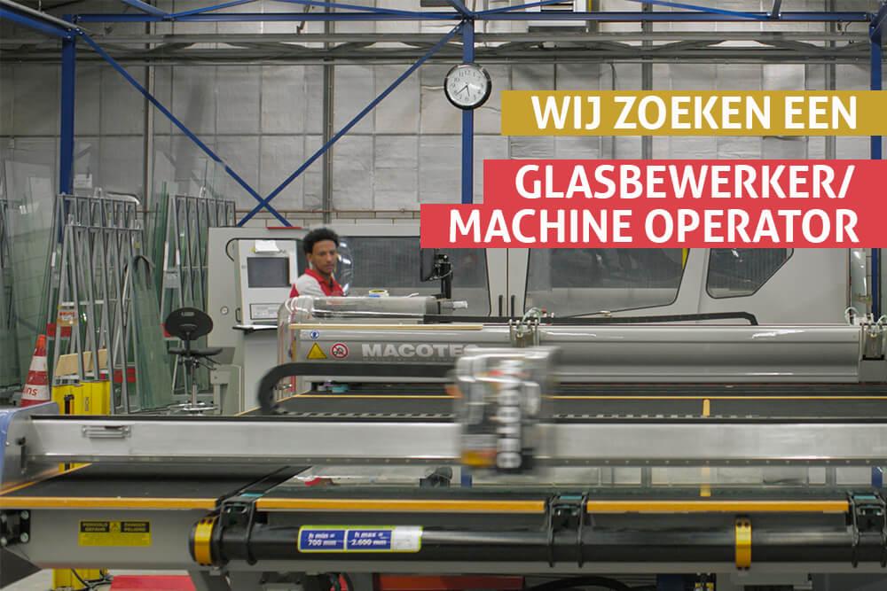 Glasbewerker/ Machine operator