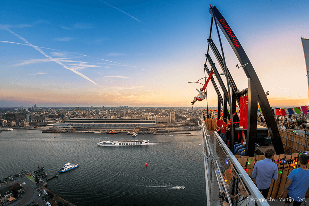 Over The Edge - A'DAM Toren