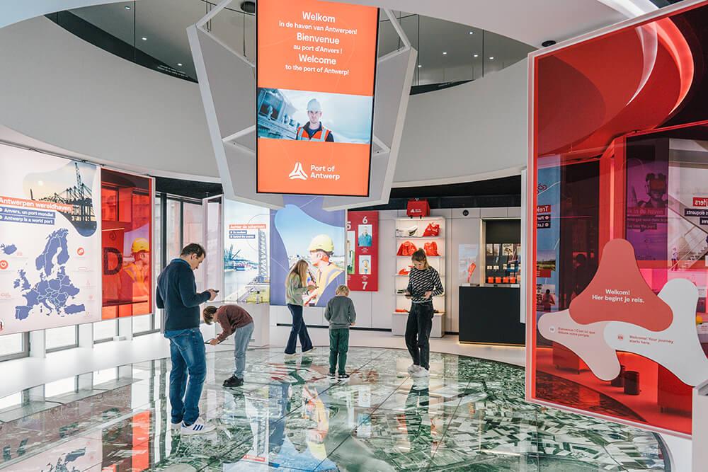 Innekegebruers Bedrijfsreportage Portopils Havenvanantwerpen Creatie Bailleul Ontwerpbureau Museum 69